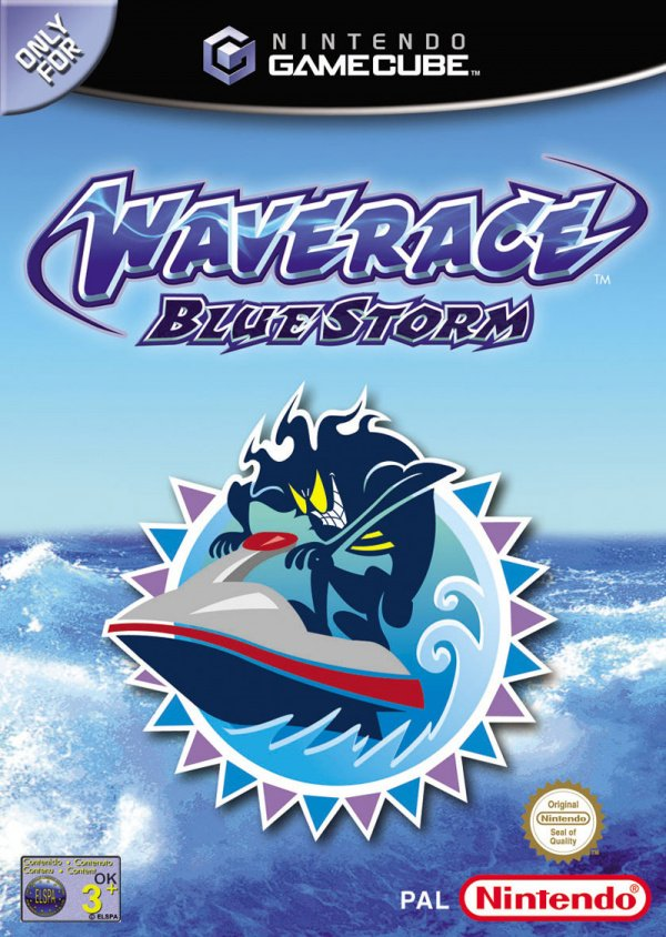 Wave Race: Blue Storm Cover Artwork