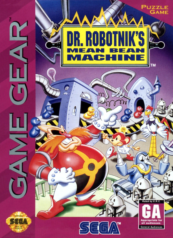 Dr Robotnik's Mean Bean Machine Cover Artwork