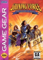 Shining Force: The Sword of Hajya Cover (Click to enlarge)
