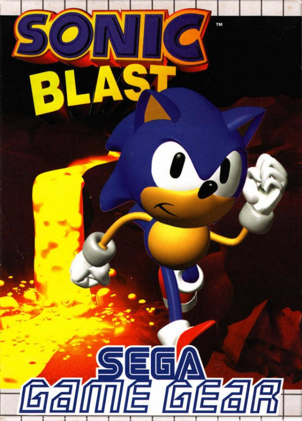 Sonic Blast Cover Artwork