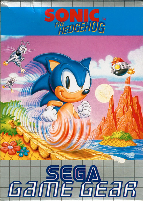 Sonic the Hedgehog Cover Artwork