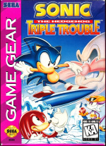 Sonic the Hedgehog: Triple Trouble Cover (Click to enlarge)