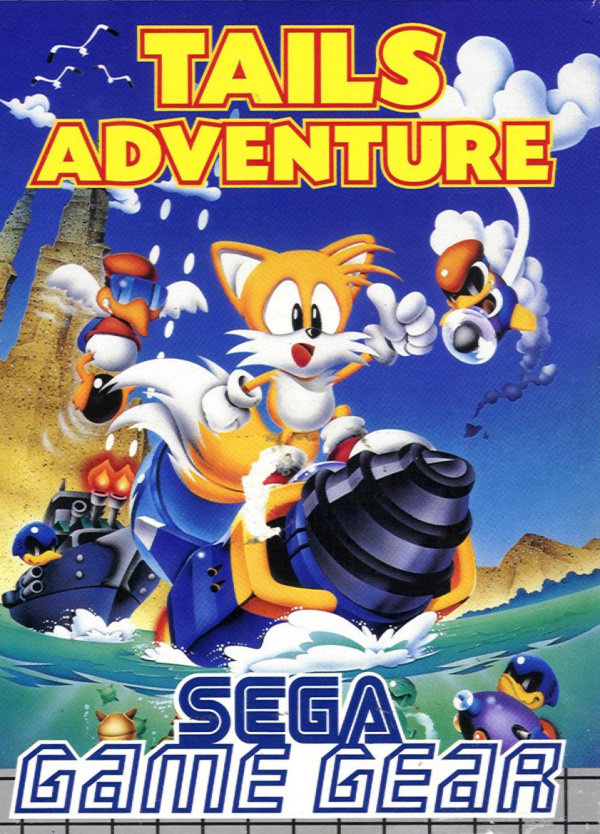 Tails Adventure Cover Artwork
