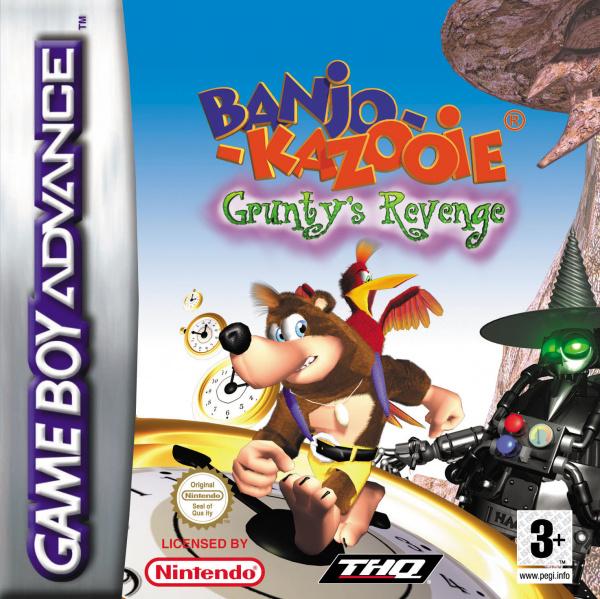 Banjo-Kazooie: Grunty's Revenge Cover Artwork
