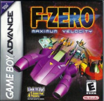 F-Zero Maximum Velocity Cover (Click to enlarge)