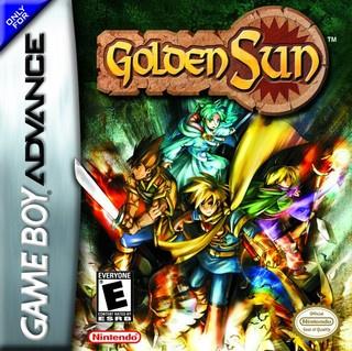 Golden Sun Cover Artwork