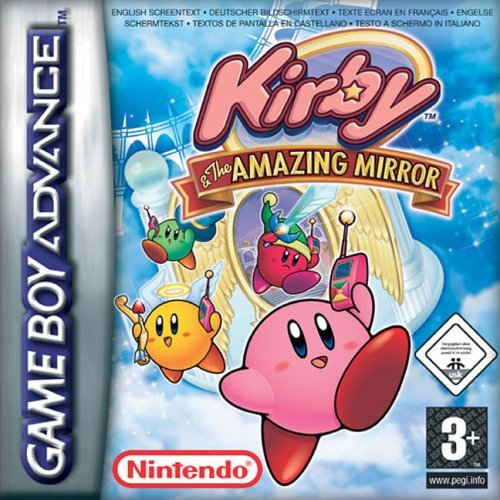Kirby & The Amazing Mirror Cover Artwork