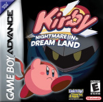Kirby: Nightmare in Dream Land Cover (Click to enlarge)