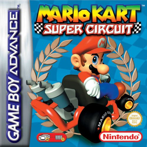 Mario Kart Super Circuit Cover Artwork