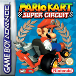 Mario Kart Super Circuit Cover (Click to enlarge)