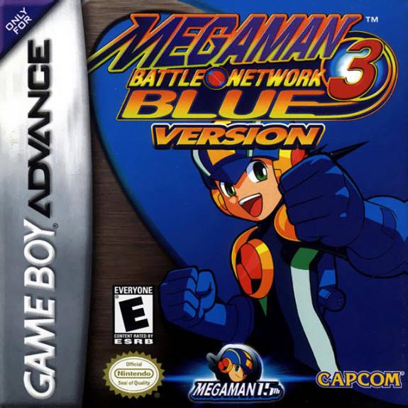 Mega Man Battle Network 3 Blue & White