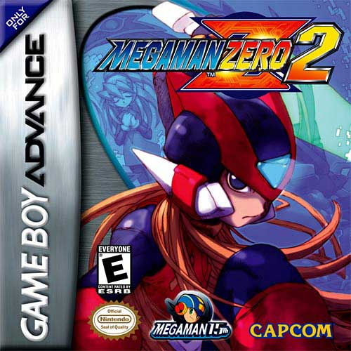 Mega Man Zero 2 Cover Artwork