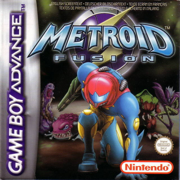 Metroid Fusion Cover Artwork