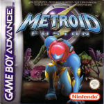 Metroid Fusion Cover (Click to enlarge)