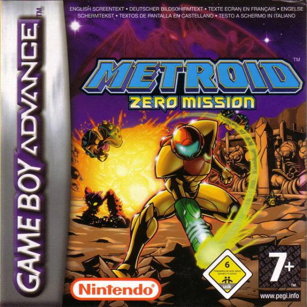 Metroid: Zero Mission Cover Artwork