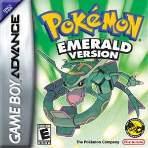 Pokémon Emerald Cover Artwork