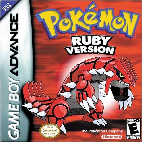 Pokémon Ruby & Sapphire Cover Artwork