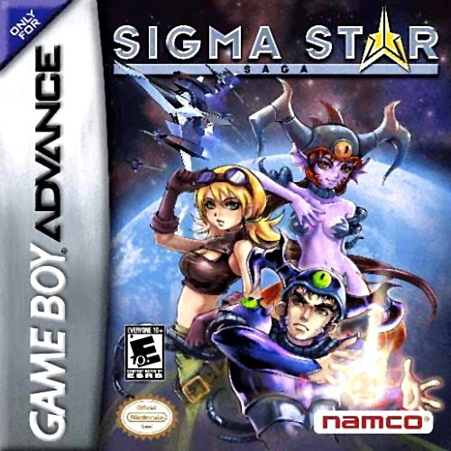 Sigma Star Saga Cover Artwork