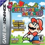 Super Mario Advance Cover (Click to enlarge)