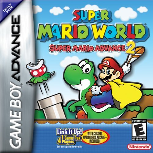 Super Mario Advance 2: Super Mario World Cover Artwork