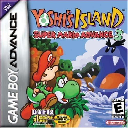 Super Mario Advance 3: Yoshi's Island Cover Artwork