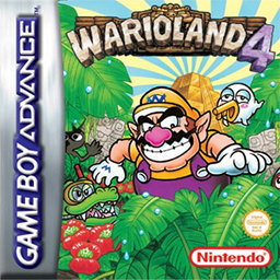 Wario Land 4 Cover Artwork