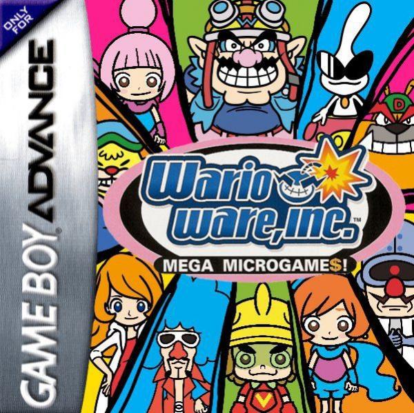 WarioWare, Inc.: Mega Microgame$! Cover Artwork