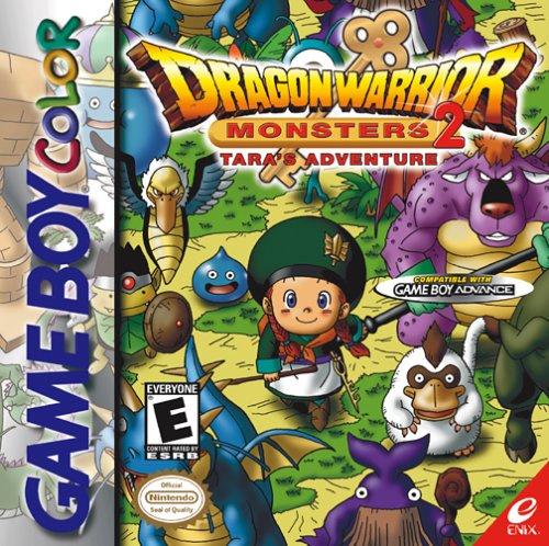 Dragon Warrior Monsters 2: Tara's Adventure & Cobi's Journey Cover Artwork