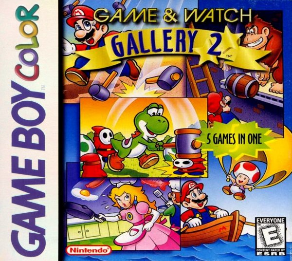 Game & Watch Gallery 2 Cover Artwork