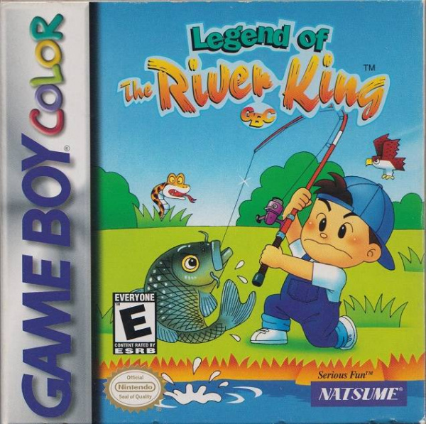 Legend of the River King Cover Artwork