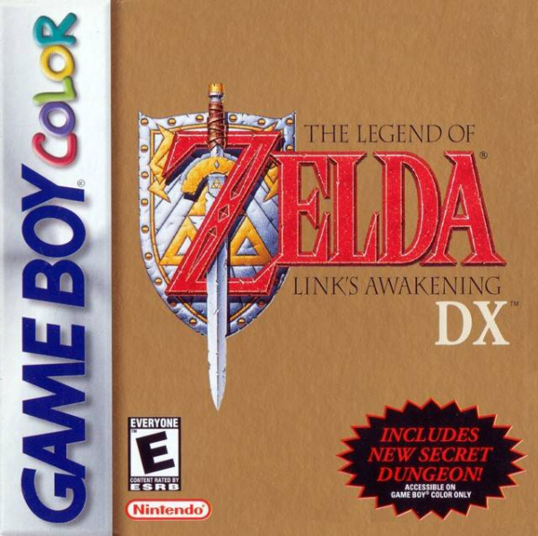 The Legend of Zelda: Link's Awakening DX Cover Artwork