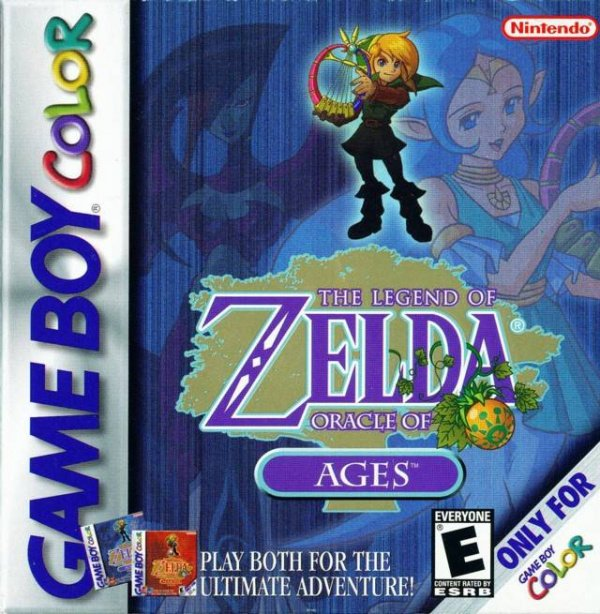 The Legend of Zelda: Oracle of Ages Cover Artwork