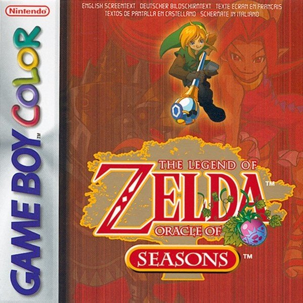 The Legend of Zelda: Oracle of Seasons Cover Artwork
