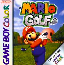 Mario Golf Cover Artwork