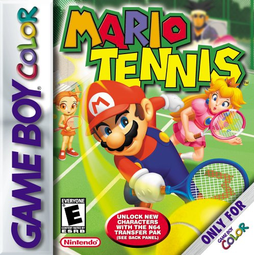 Mario Tennis Cover Artwork