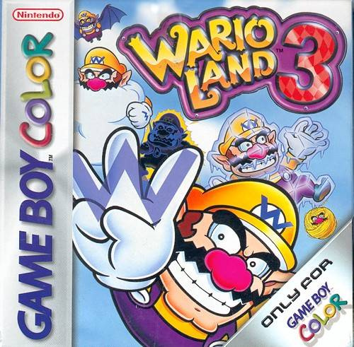 Wario Land 3 Cover Artwork