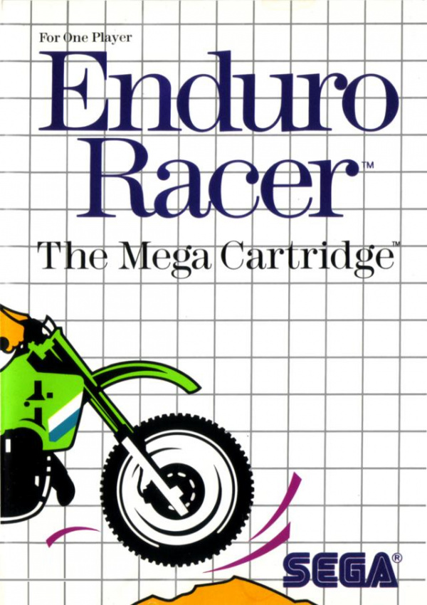 Enduro Racer Cover Artwork