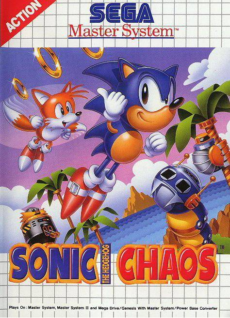 Sonic Chaos Cover Artwork