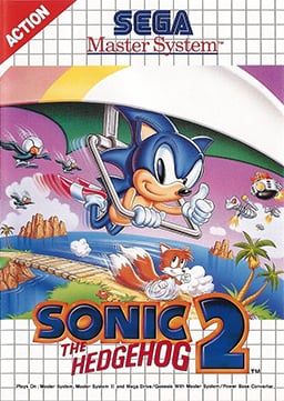 Sonic the Hedgehog 2 Cover Artwork