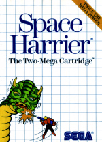 Space Harrier Cover (Click to enlarge)