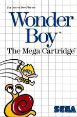 Wonder Boy Cover (Click to enlarge)