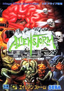 Alien Storm Cover Artwork