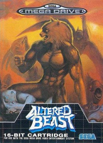 Altered Beast Cover Artwork