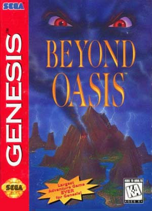 Beyond Oasis Cover Artwork