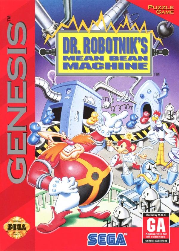 Dr. Robotnik's Mean Bean Machine Cover Artwork