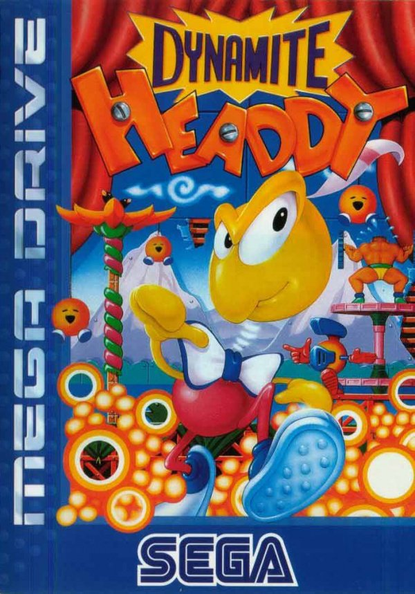 Dynamite Headdy Cover Artwork