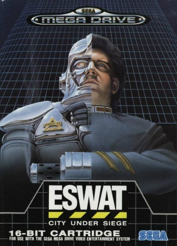ESWAT: City Under Siege Cover Artwork