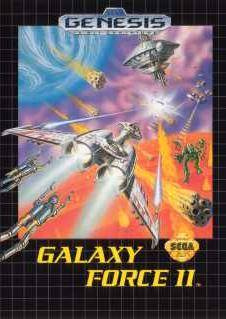 Galaxy Force II Cover Artwork