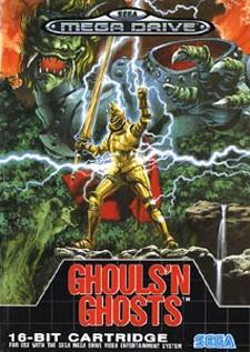 Ghouls 'n Ghosts Cover Artwork