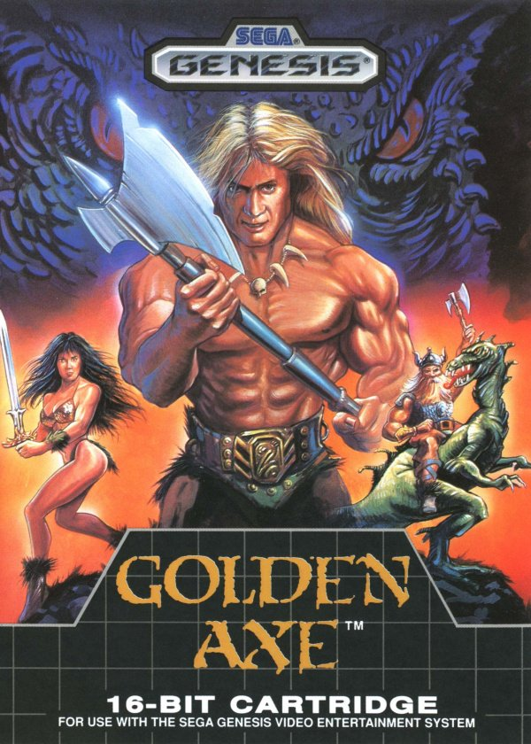 Golden Axe Cover Artwork
